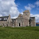 Iona Abbey Scotland by jacqi