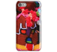 Colorful Knit Masks iPhone Case/Skin
