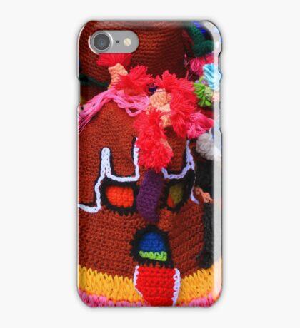 Colorful Knit Masks iPhone Case/Skin