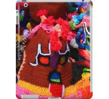 Colorful Knit Masks iPad Case/Skin