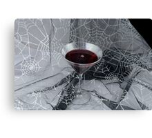 Halloween Vampire drink Canvas Print