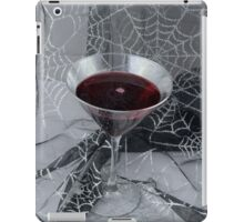 Halloween Vampire drink iPad Case/Skin