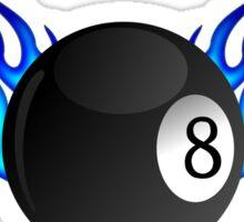 Snooker 8-Ball Hustler Graphic Sticker
