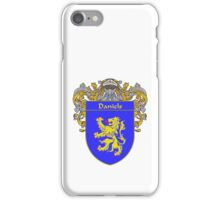 Daniels Coat of Arms/Family Crest iPhone Case/Skin