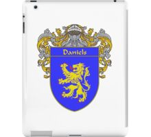 Daniels Coat of Arms/Family Crest iPad Case/Skin