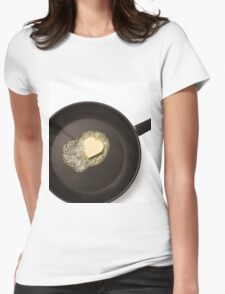 Cooking with love Womens Fitted T-Shirt