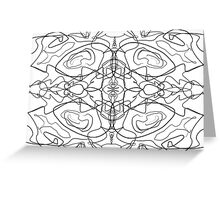 Symmetry 5 Greeting Card