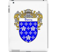 Darcy Coat of Arms/Family Crest iPad Case/Skin