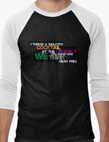Police State- Dead Prez Men's Baseball ¾ T-Shirt
