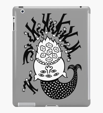 A good day for fish. iPad Case/Skin