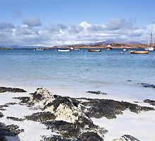 Beach on Isle of Iona by jacqi