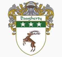 Daugherty Coat of Arms/Family Crest Kids Tee