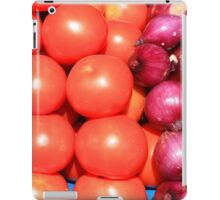Tomatoes and Red Onions iPad Case/Skin
