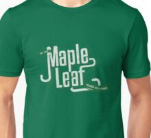 Maple Leaf Seattle - Reside with Pride GREEN Unisex T-Shirt