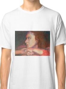 Self Portrait In Profile Classic T-Shirt