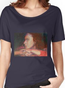 Self Portrait In Profile Women's Relaxed Fit T-Shirt