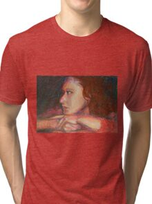 Self Portrait In Profile Tri-blend T-Shirt