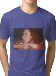 Self Portrait In Profile Tri-blend T-Shirt