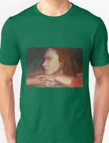 Self Portrait In Profile Unisex T-Shirt
