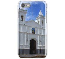 White Church in Otavalo iPhone Case/Skin
