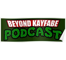 Beyond Kayfabe Podcast - Turtle Power! Poster