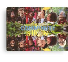 Community - Puppet Show! Canvas Print