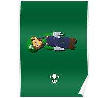 Luigi - Super Smash Brothers Poster