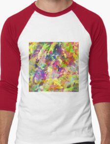 Floral Haze Men's Baseball ¾ T-Shirt