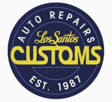 Los Santos Customs Circle Logo One Piece - Long Sleeve