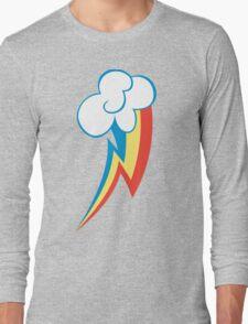 Rainbow Dash Cutie Mark (new version) Long Sleeve T-Shirt