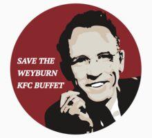Save the Weyburn KFC Buffet One Piece - Short Sleeve