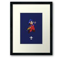 Mario - Super Smash Brothers Framed Print