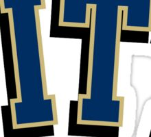 pitt logo Sticker