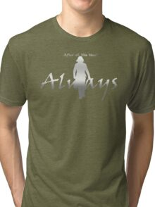 Always - Severus loves Lily - Dark Backgrounds Tri-blend T-Shirt