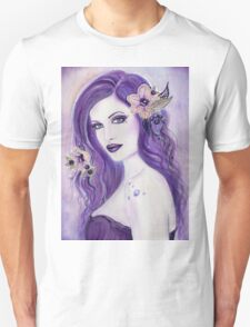 Pretty Poison fantasy portrait by Renee Lavoie T-Shirt