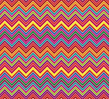 Colourful Chevron by Katayoonphotos