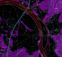 USGS TOPO Map Alabama AL Farley 303820 1964 24000 Inverted Sticker