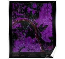 USGS TOPO Map Alabama AL Farley 303820 1964 24000 Inverted Poster