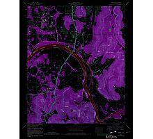 USGS TOPO Map Alabama AL Farley 303820 1964 24000 Inverted Photographic Print