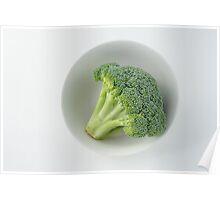 Raw broccoli Poster