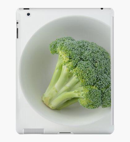 Raw broccoli iPad Case/Skin
