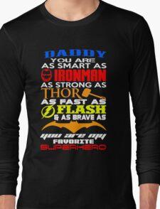 dady superhero Long Sleeve T-Shirt