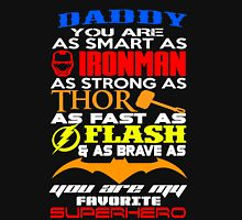 dady superhero Unisex T-Shirt