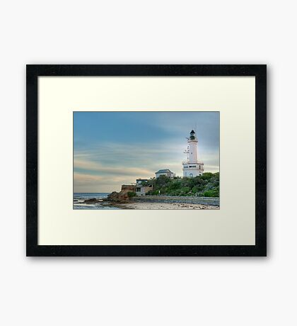 1041 Point Lonsdale Lighthouse Framed Print