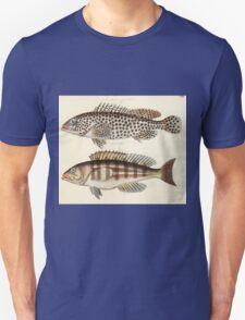 Naturgeschichte in Bildern mit erläuterndem Text E Strack 1820 Lief 4 Fish 106 T-Shirt