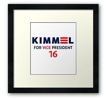 Kimmel VP 16 Framed Print