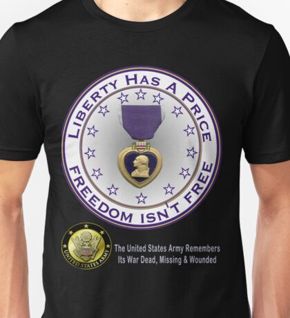 Army Remembers (dark colors) Unisex T-Shirt