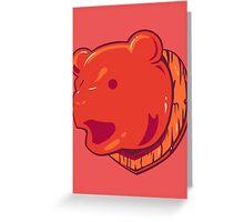 Bear Price Greeting Card