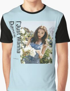 Girls' Generation (SNSD) Tiffany - I Just Wanna Dance #2 Graphic T-Shirt