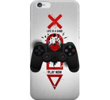 PLAY NOW 2.0 Playstation iPhone Case/Skin